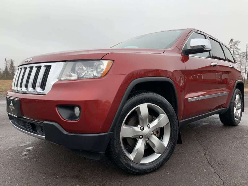 2013 Jeep Grand Cherokee for sale at LUXURY IMPORTS in Hermantown MN