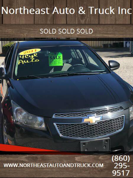 2011 Chevrolet Cruze for sale at Northeast Auto & Truck Inc in Marlborough CT