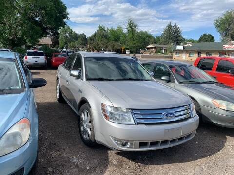 2008 Ford Taurus for sale at Highbid Auto Sales & Service in Lakewood CO