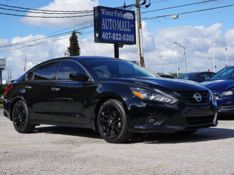 2018 Nissan Altima for sale at Winter Park Auto Mall in Orlando FL