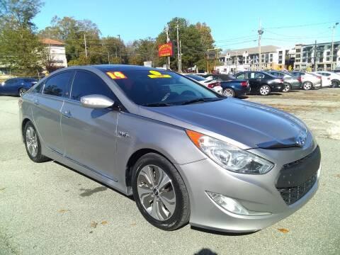 2014 Hyundai Sonata Hybrid for sale at Import Plus Auto Sales in Norcross GA