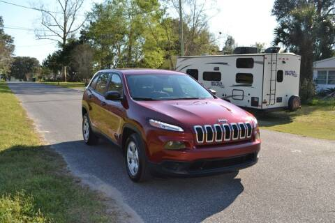 2015 Jeep Cherokee for sale at Car Bazaar in Pensacola FL
