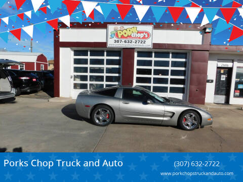 2001 Chevrolet Corvette for sale at Pork Chops Truck and Auto in Cheyenne WY