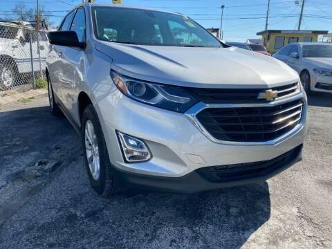 2018 Chevrolet Equinox for sale at MIAMI AUTO LIQUIDATORS in Miami FL