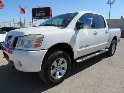 2005 Nissan Titan for sale at Moving Rides in El Paso TX