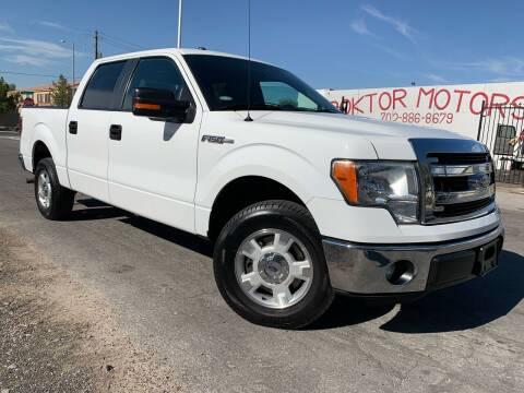 2013 Ford F-150 for sale at Boktor Motors in Las Vegas NV