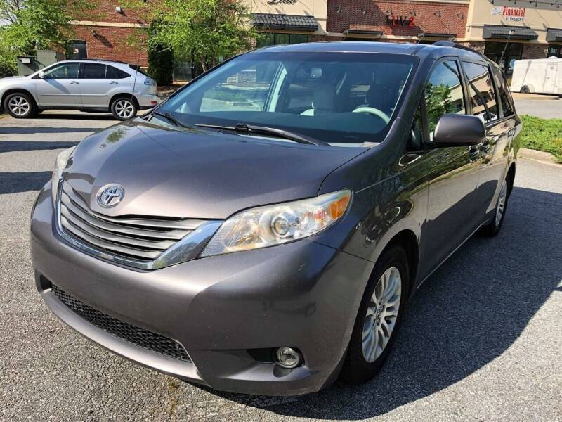 2013 Toyota Sienna for sale at AUTO FIESTA in Norcross GA
