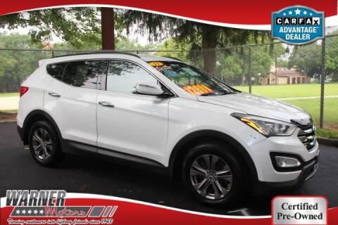 2013 Hyundai Santa Fe Sport for sale at Warner Motors in East Orange NJ