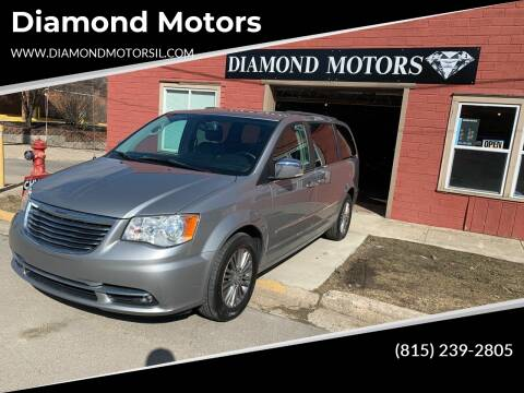 2014 Chrysler Town and Country for sale at Diamond Motors in Pecatonica IL