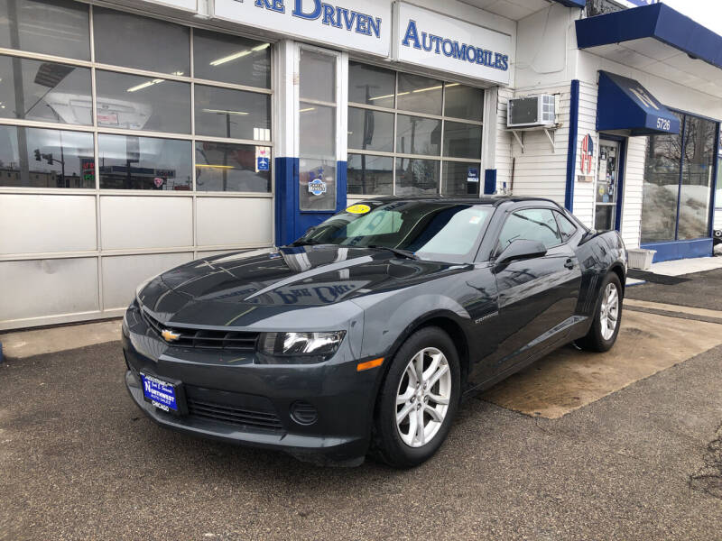 2015 Chevrolet Camaro for sale at Jack E. Stewart's Northwest Auto Sales, Inc. in Chicago IL