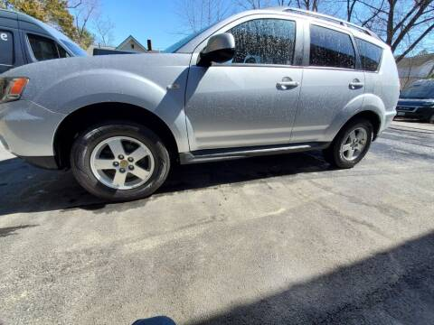 2010 Mitsubishi Outlander for sale at Stellar Motor Group in Hudson NH