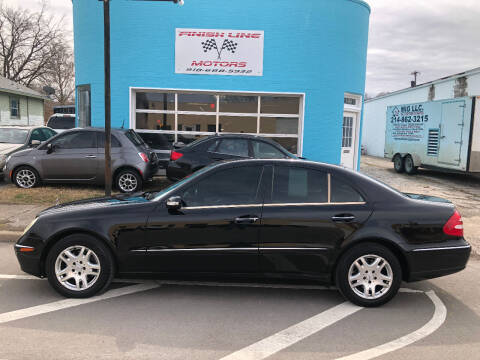 2006 Mercedes-Benz E-Class for sale at Finish Line Motors in Tulsa OK
