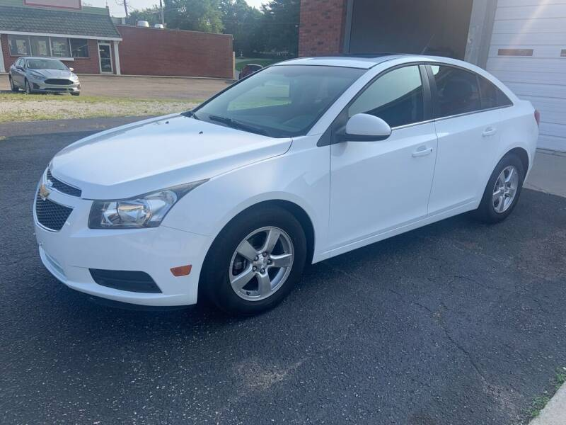 2012 Chevrolet Cruze for sale at GENE AND TONYS DEMOTTE AUTO SALES in Demotte IN