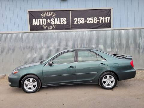 2002 Toyota Camry for sale at Austin's Auto Sales in Edgewood WA