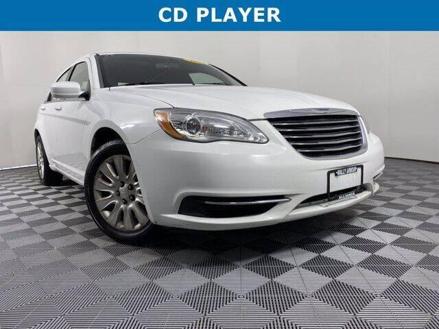 2012 Chrysler 200 for sale at GotJobNeedCar.com in Alliance OH
