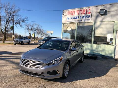 2017 Hyundai Sonata for sale at United Motors LLC in Saint Francis WI