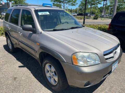 2002 Mazda Tribute for sale at CHRISTIAN AUTO SALES in Anoka MN