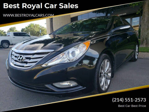 2012 Hyundai Sonata for sale at Best Royal Car Sales in Dallas TX