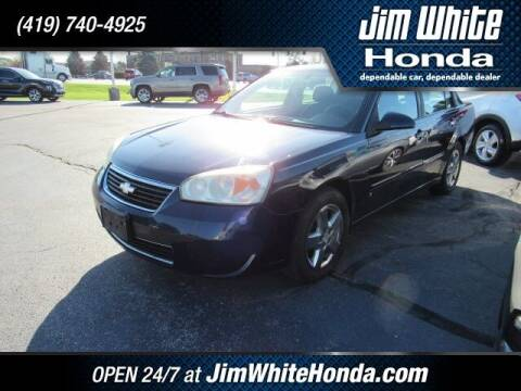2007 Chevrolet Malibu for sale at The Credit Miracle Network Team at Jim White Honda in Maumee OH