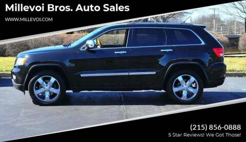 2011 Jeep Grand Cherokee for sale at Millevoi Bros. Auto Sales in Philadelphia PA
