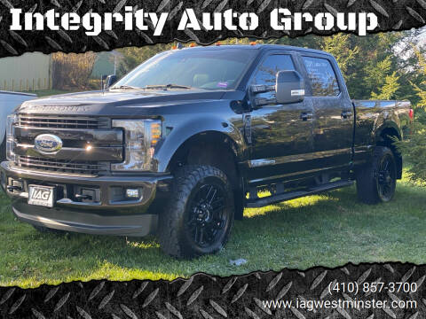 2019 Ford F-250 Super Duty for sale at Integrity Auto Group in Westminister MD
