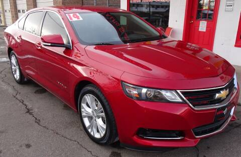 2014 Chevrolet Impala for sale at VISTA AUTO SALES in Longmont CO