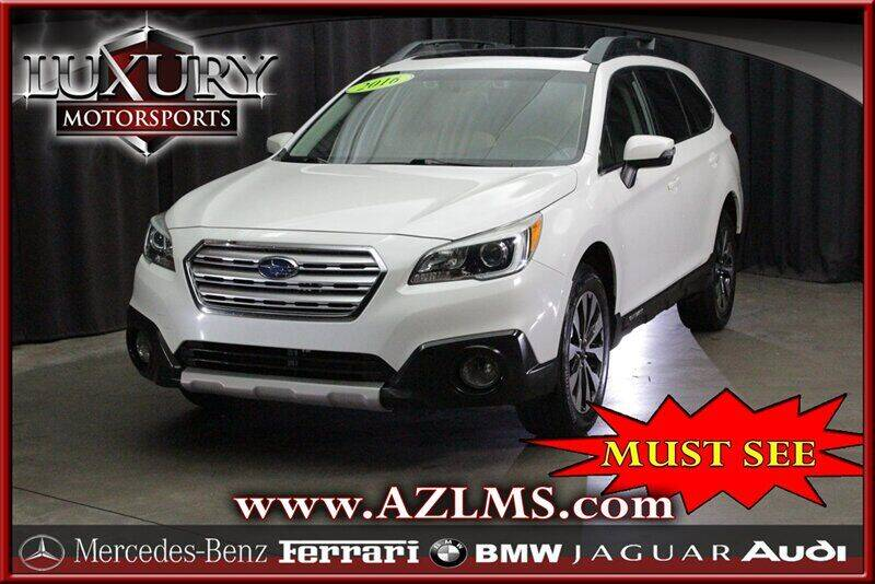 2016 Subaru Outback for sale at Luxury Motorsports in Phoenix AZ