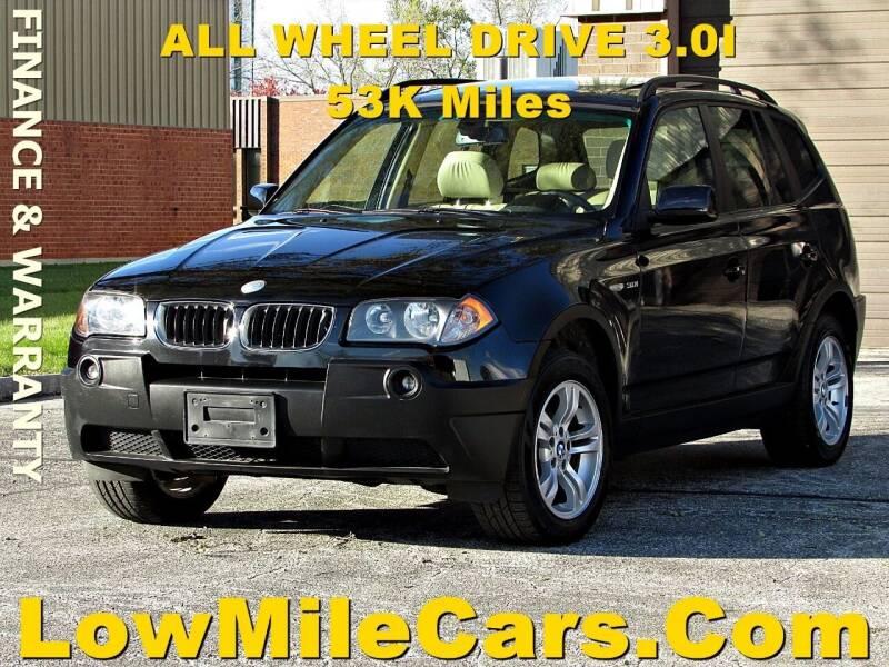 2005 BMW X3 for sale at A1 Auto Sales in Burr Ridge IL