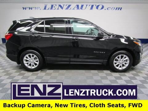 2019 Chevrolet Equinox for sale at LENZ TRUCK CENTER in Fond Du Lac WI