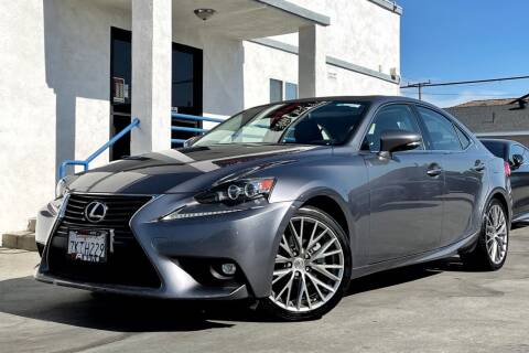 2015 Lexus IS 250 for sale at Fastrack Auto Inc in Rosemead CA