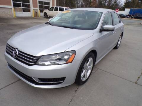 2014 Volkswagen Passat for sale at Adams Auto Group Inc. in Charlotte NC
