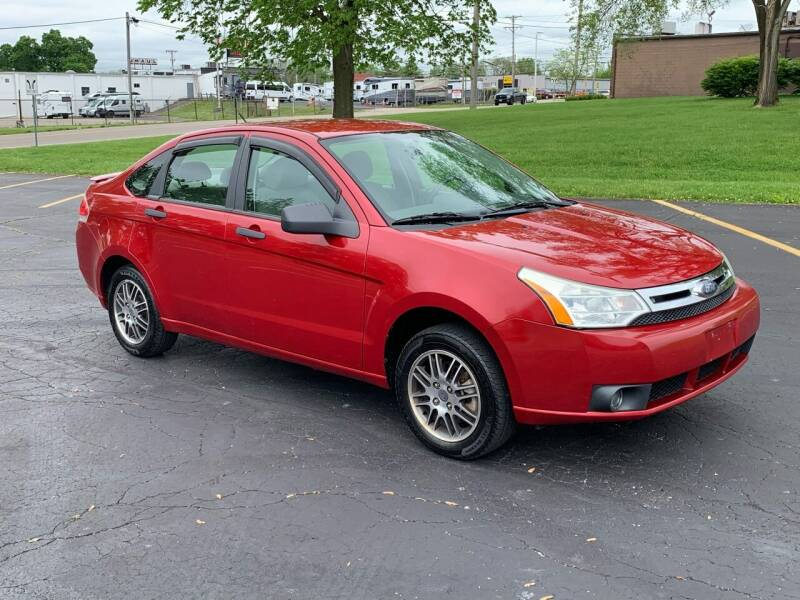 2010 Ford Focus for sale at Dittmar Auto Dealer LLC in Dayton OH