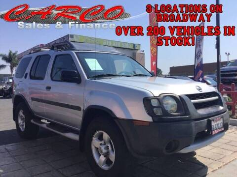 2004 Nissan Xterra for sale at CARCO SALES & FINANCE #2 in Chula Vista CA