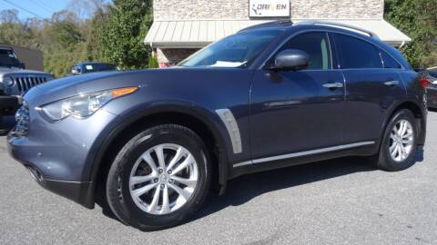 2009 Infiniti FX35 for sale at Driven Pre-Owned in Lenoir NC