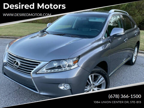 2015 Lexus RX 350 for sale at Desired Motors in Alpharetta GA