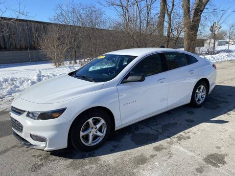 2017 Chevrolet Malibu for sale at Posen Motors in Posen IL