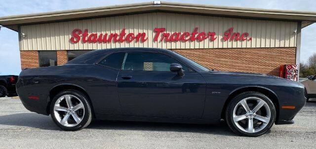 2017 Dodge Challenger for sale at STAUNTON TRACTOR INC in Staunton VA