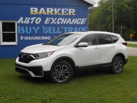 2020 Honda CR-V for sale at BARKER AUTO EXCHANGE in Spencer IN
