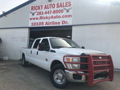 2012 Ford F-250 Super Duty for sale at Ricky Auto Sales in Houston TX