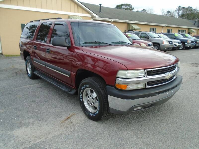 2003 Chevrolet Suburban for sale at Ridetime Auto in Suffolk VA