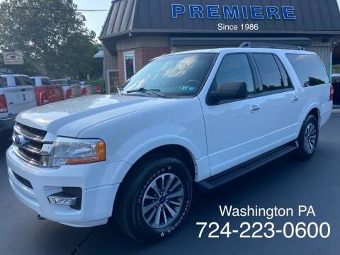2015 Ford Expedition EL for sale at Premiere Auto Sales in Washington PA