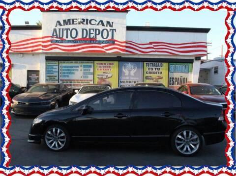 2011 Honda Civic for sale at American Auto Depot in Modesto CA