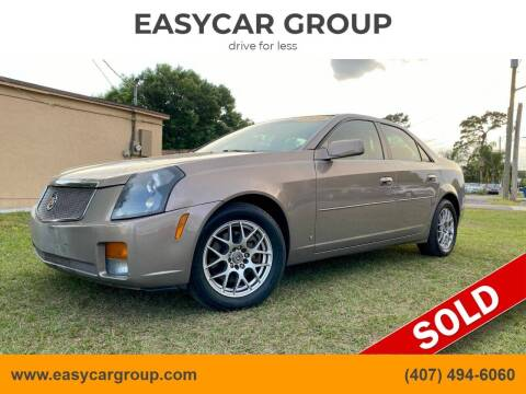 2006 Cadillac CTS for sale at EASYCAR GROUP in Orlando FL