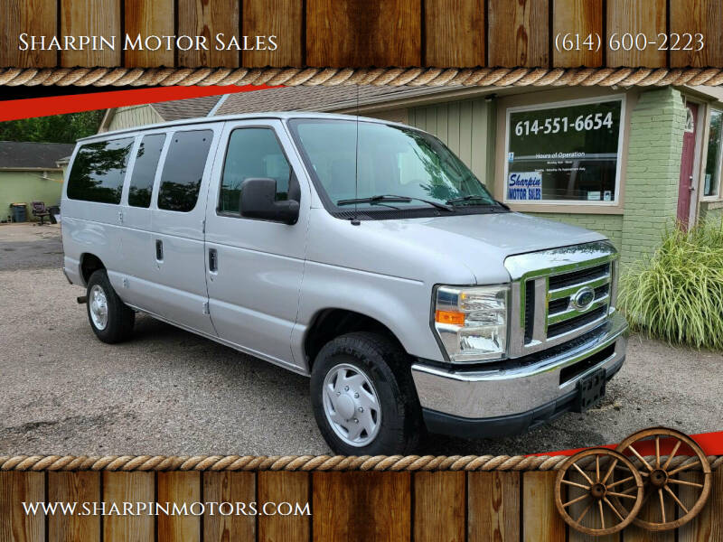 2010 Ford E-Series Wagon for sale at Sharpin Motor Sales in Columbus OH