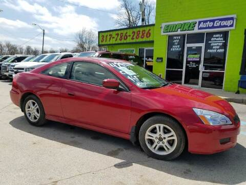 2007 Honda Accord for sale at Empire Auto Group in Indianapolis IN