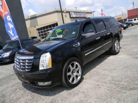 2008 Cadillac Escalade ESV for sale at Meridian Auto Sales in San Antonio TX