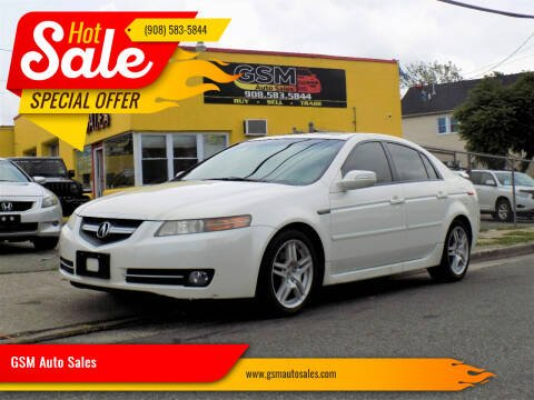 2008 Acura TL for sale at GSM Auto Sales in Linden NJ