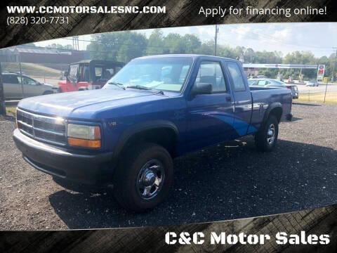 1995 Dodge Dakota for sale at C&C Motor Sales LLC in Hudson NC