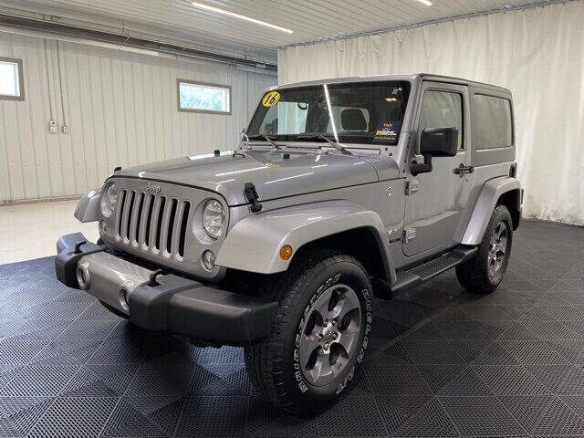2016 Jeep Wrangler for sale at Monster Motors in Michigan Center MI