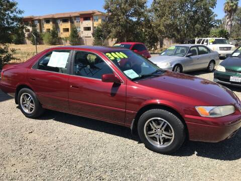 1999 Toyota Camry for sale at Quintero's Auto Sales in Vacaville CA
